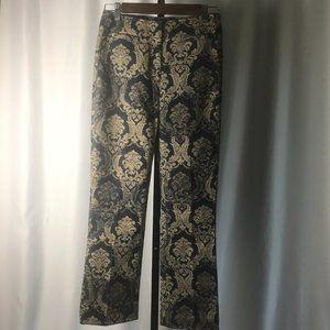 Renfrew Brocade Tapestry Print Trouser Pants - 2